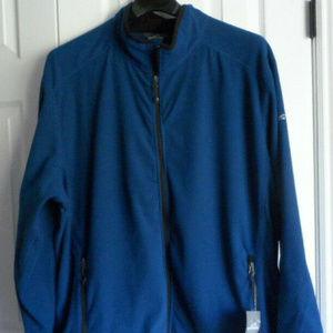 NWT MEN'S Eddie Bauer 4XL Vertical Full Zip Fleece